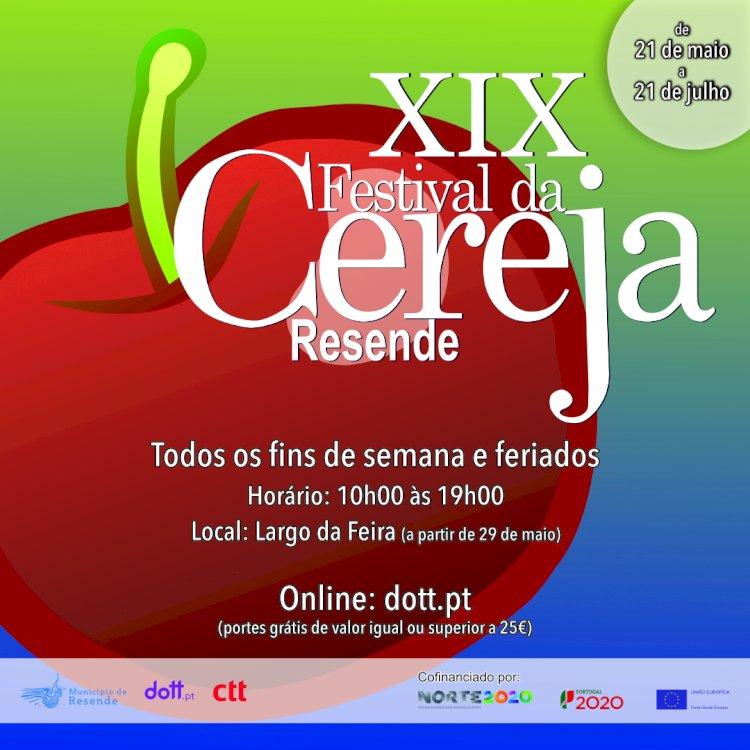 Município de Resende, CTT e DOTT lançam festival da cereja de Resende online