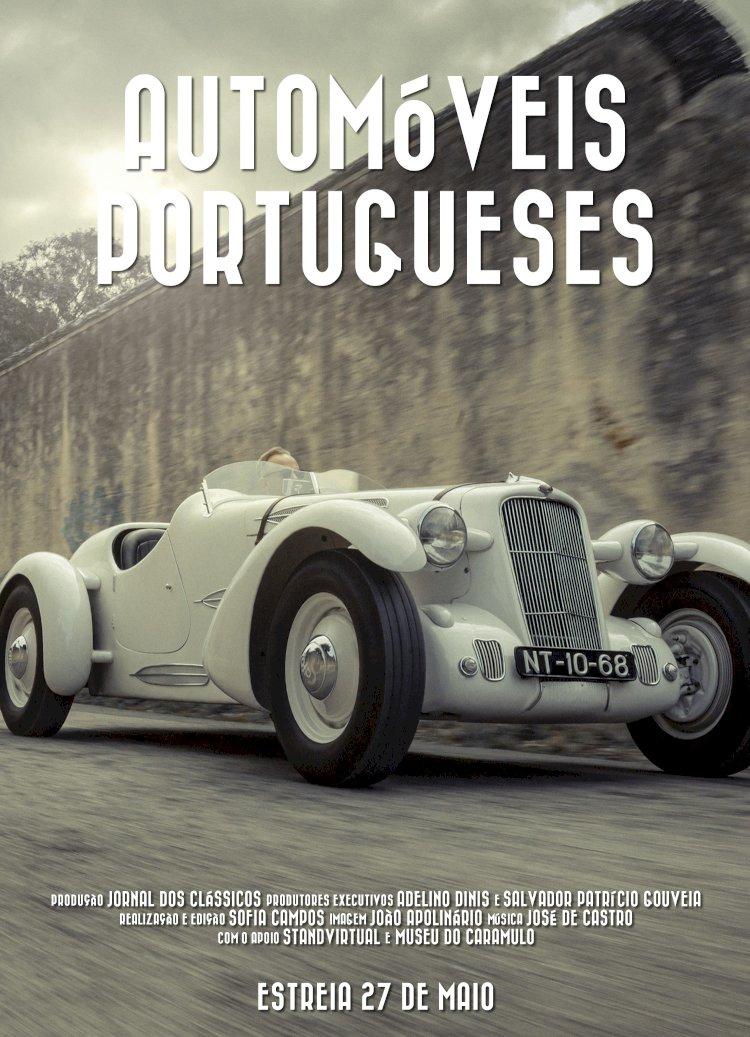 Série sobre automóveis portugueses produzida pelo Museu do Caramulo estreia a 27 de Maio