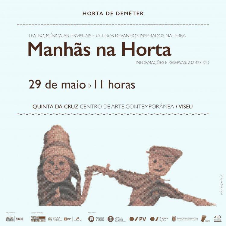 """""""Manhãs na Horta"""" na Quinta da Cruz a partir de 29 de Maio"""