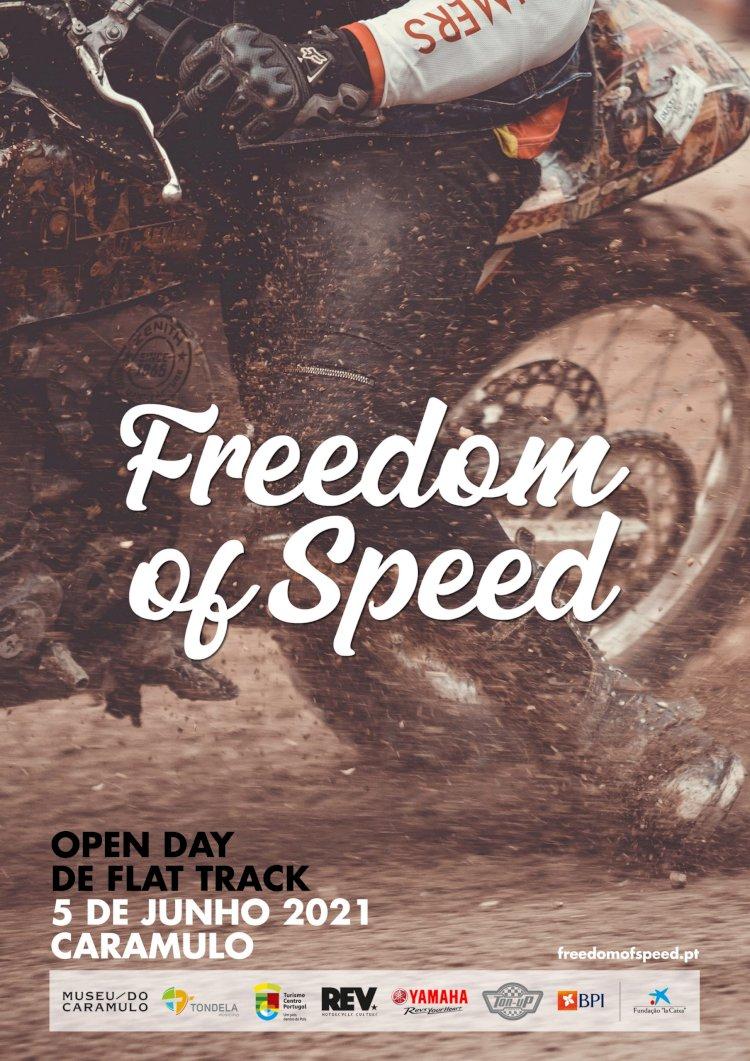 Freedom of Speed, uma pista de flat track na Serra do Caramulo