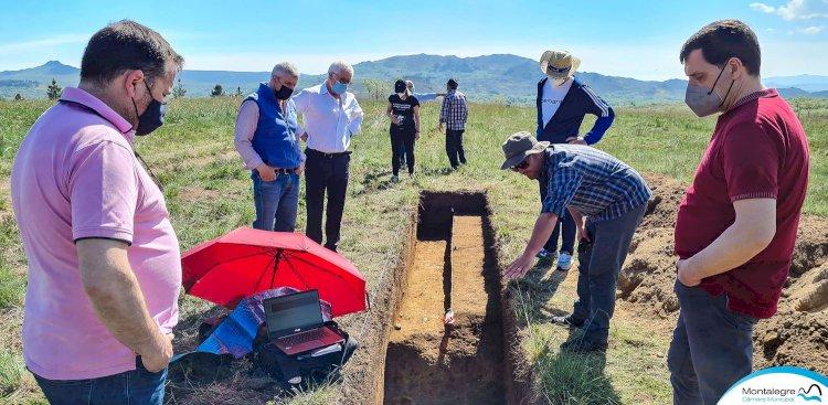 Achado arqueológico no Alto da Raia