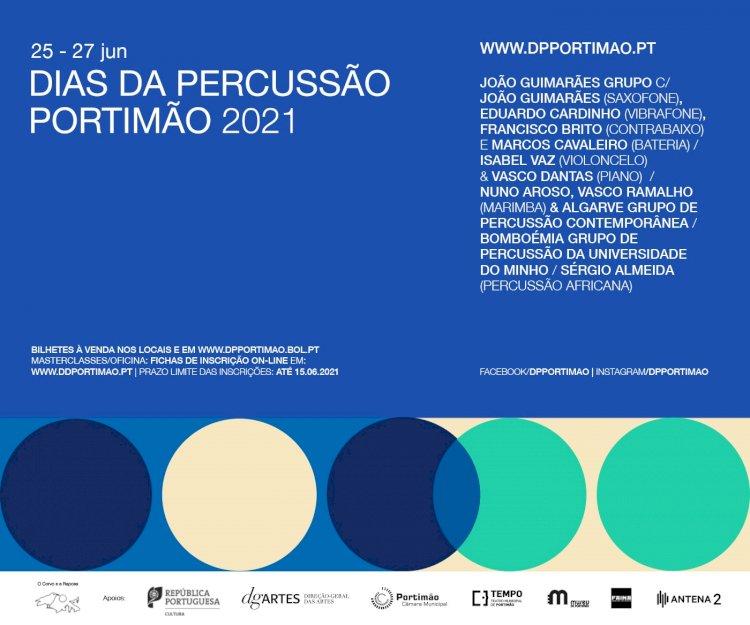 'Dias da Percussão Portimão 2021' vai encher a cidade de ritmos contagiantes