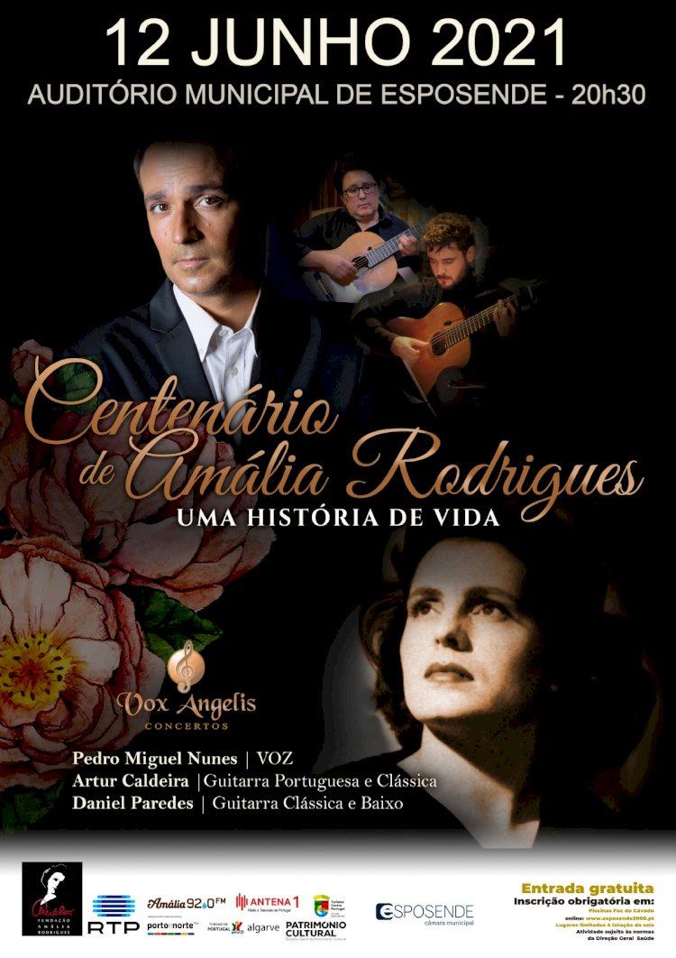 Esposende recebe espectáculo comemorativo do centenário de Amália Rodrigues