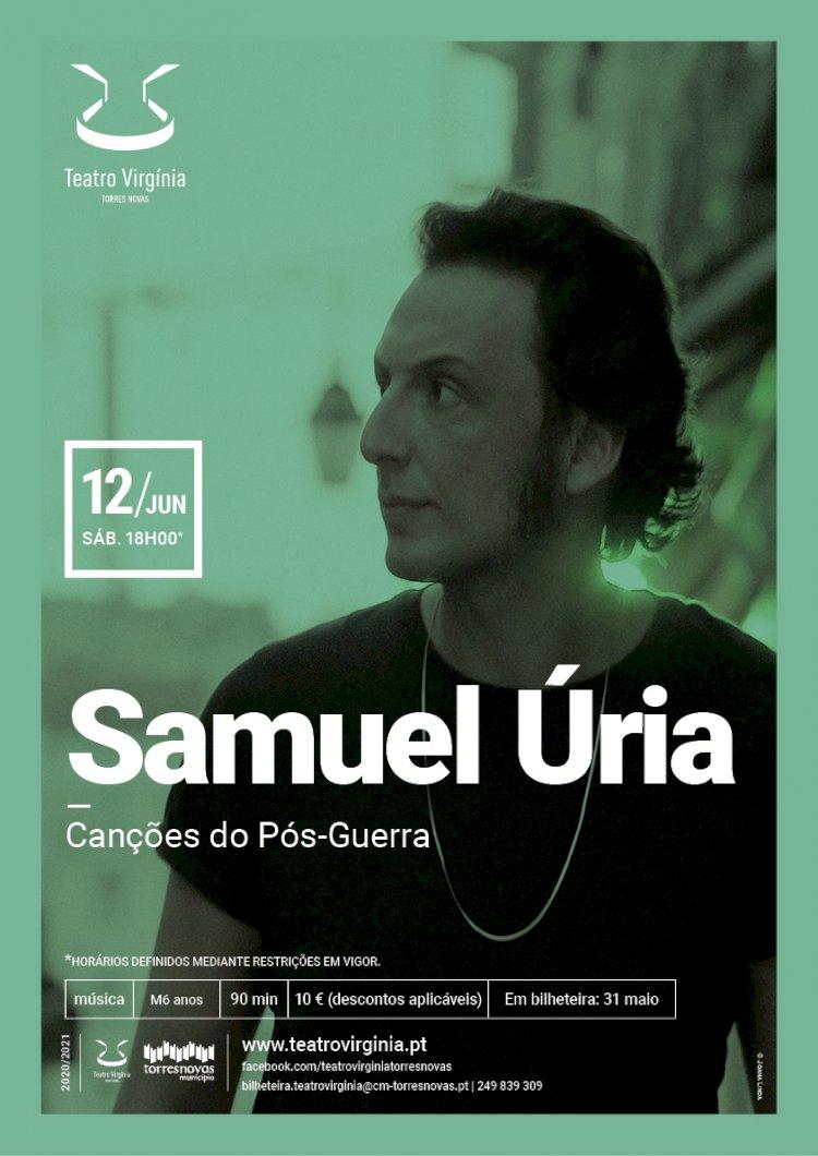 Samuel Úria traz Canções do Pós-Guerra ao Teatro Virgínia