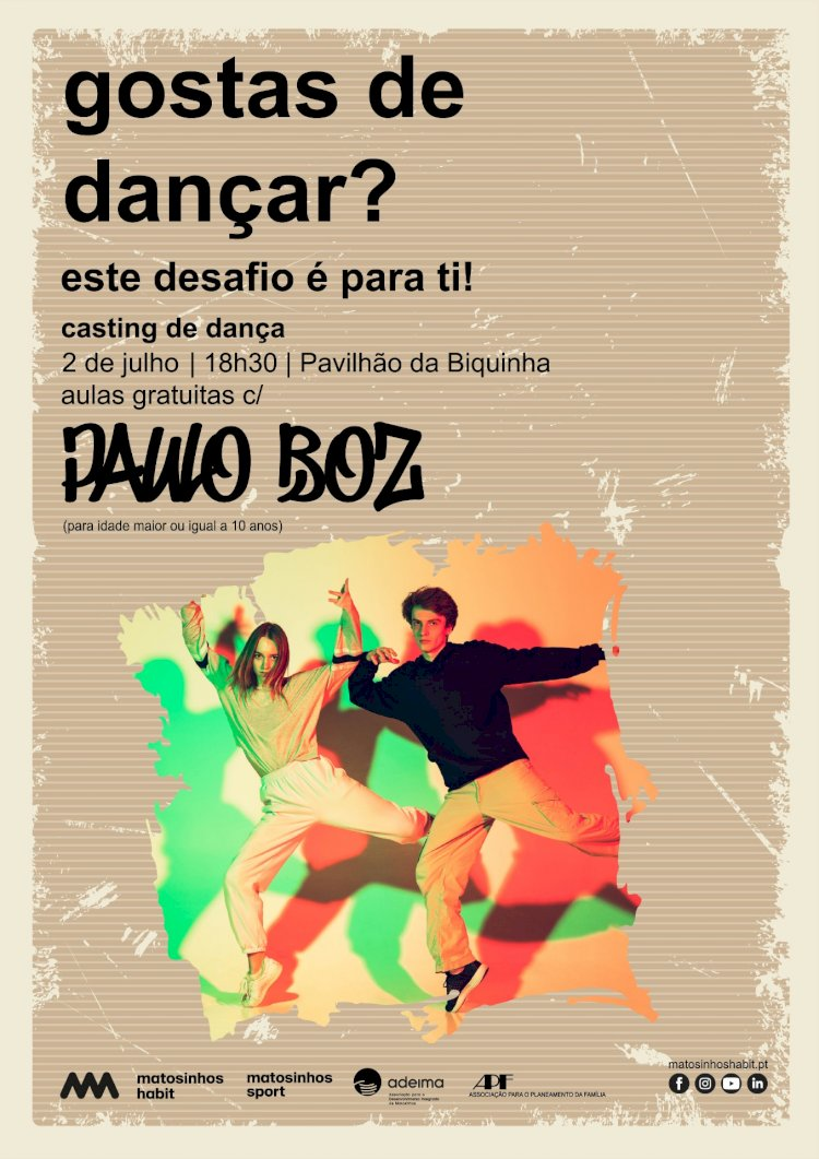 MatosinhosHabit convida jovens a dançar