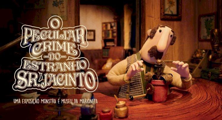 O Peculiar Crime do Estranho Sr. Jacinto inaugura no Museu da Marioneta
