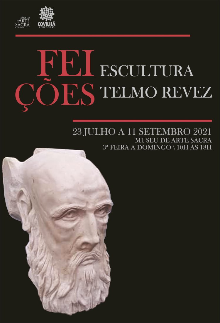 Esculturas de Telmo Revez e Carlos Sousa no Museu de Arte Sacra da Covilhã