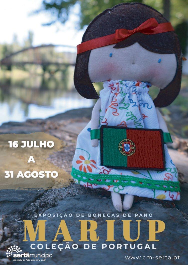 """""""Bonecas de Pano MariUp – Colecção de Portugal"""" em exposição"""