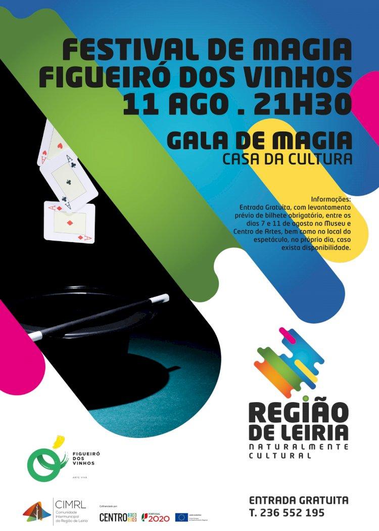 Gala de Magia na Casa da Cultura de Figueiró dos Vinhos