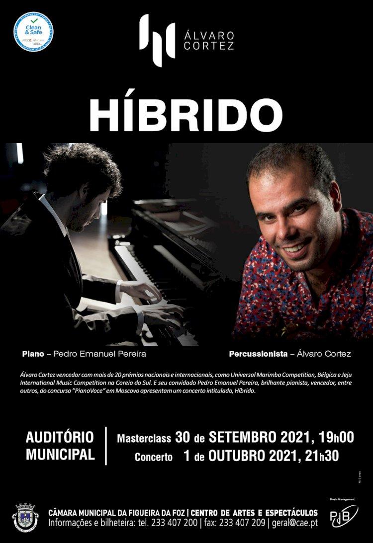 """""""Híbrido"""", com Álvaro Cortez e Pedro Emanuel Pereira, no âmbito do Dia Mundial da Música"""