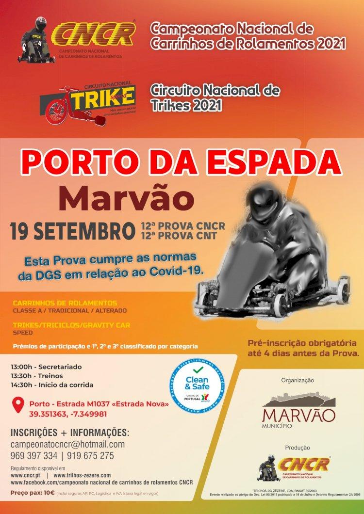 Porto da Espada recebe prova do Campeonato Nacional de Carrinhos de Rolamentos e Circuito Nacional de Trikes
