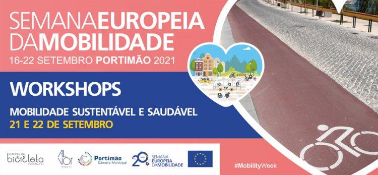 Município de Portimão promove  workshops sobre mobilidade sustentável e saudável na Semana Europeia da Mobilidade