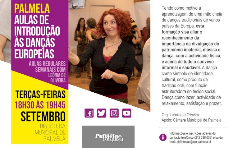 Aulas de Danças Europeias regressam à Biblioteca Municipal de Palmela