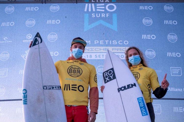 Liga MEO Surf - Kika Veselko e Afonso Antunes conquistam o Bom Petisco Peniche Pro em Supertubos