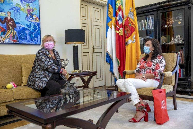 Maria José Lemos Duarte recebe CEO da WWIRE