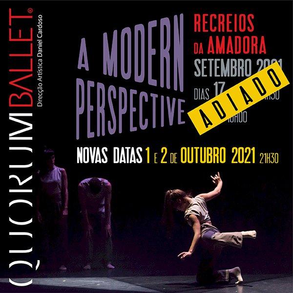 Dança   Quorum Ballet   A Modern Perspective