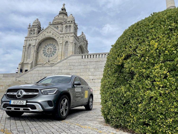 Peregrinação, Aventura ou Viagem a Santiago de Compostela com a Mercedes-Benz